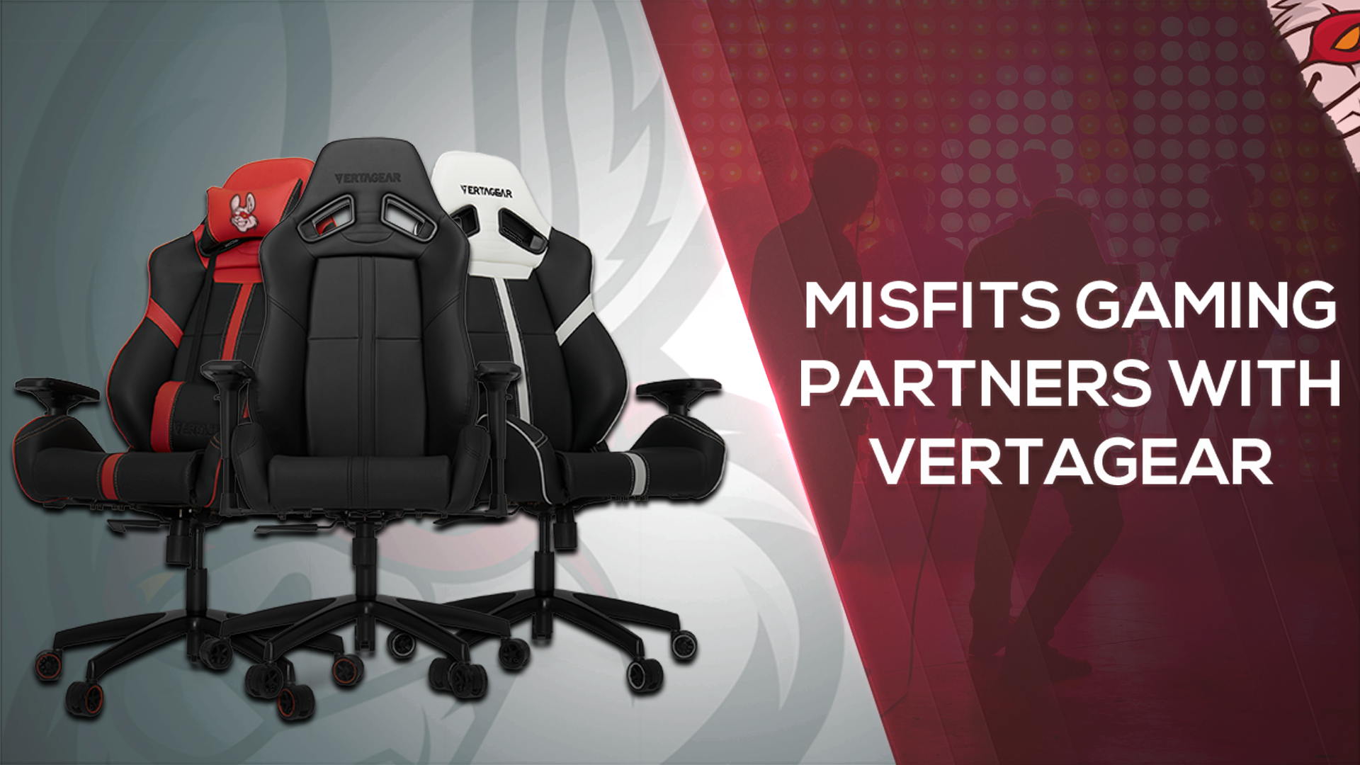 Misfits Partner with Vertagear